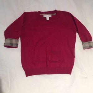 Burberry cotton-cashmere Girls sweater